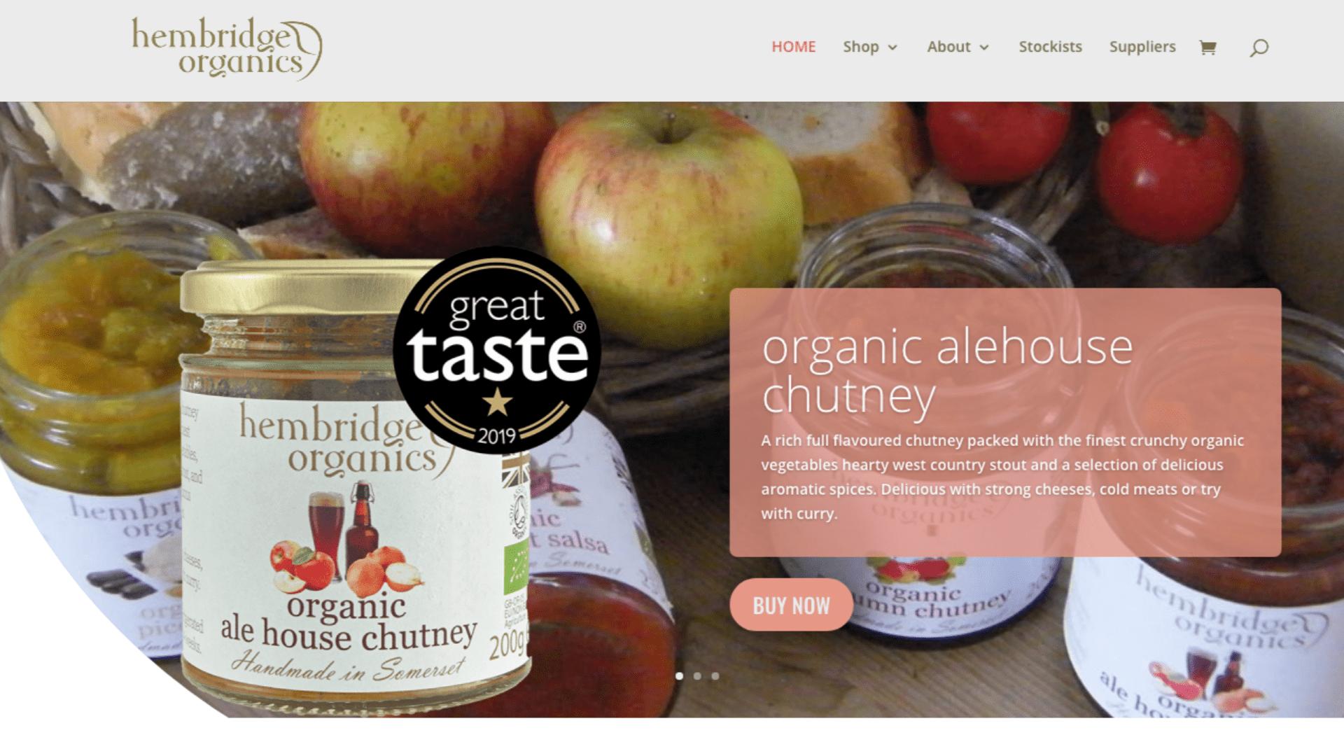 Hembridge Organics screenshot